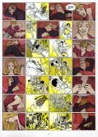 Planche intérieure du premier tome du comics Hard Boiled