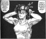 Extrait de planche intérieure du manga AD Police: Dead End City (VF)