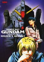 Jaquette DVD de l'édition américaine du film Mobile Suit Gundam: The 08th MS Team, Miller's Report