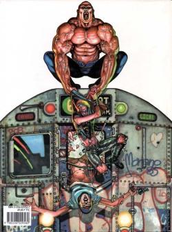 Quatrième de couverture du comics Gene Kong
