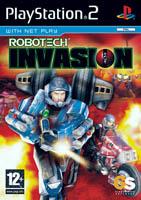 Jaquette DVD de l'édition PAL du jeu vidéo Robotech: Invasion