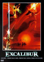 Jaquette DVD et affiche française du film Excalibur