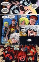 Planche intérieure de l'édition américaine du comics Bubblegum Crisis : Genom