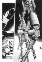 Planche intérieure du manga 2001 Nights
