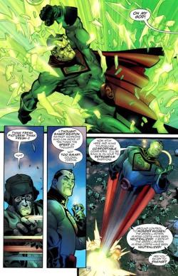 Planche intérieure du comics Superman : Red Son