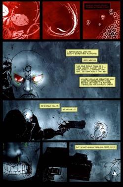 Planche intérieure du comics Singularity 7