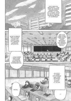 Planche intérieure du manga La Cité Saturne